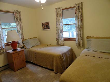 Cottage for Rent Twin Beds