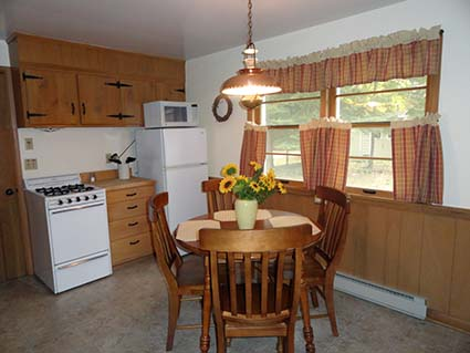 Cottage for Rent Kitchen