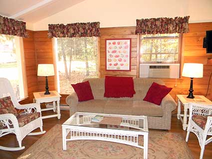 Cedar Cottage Living Room