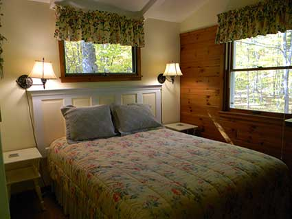 Pine Cottage Bedroom
